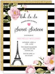 Sweet Sixteen Invitations Sweet 16 Birthday Party Invitations