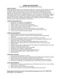 Asp Net Sample Resume Sample Resume Of Net Developer 60 hashtagbeardme 4
