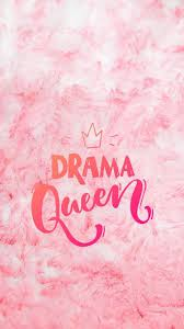 Aesthetic Drama Queen Wallpaper