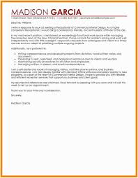 Cover Letter For Medical Receptionist Examples Front Desk Sample