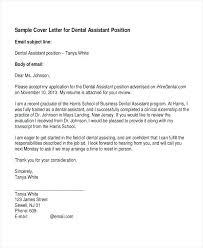 Cover Letters For Dental Assistant Sample Cover Letter For Dental Assistant Simple Resume Format