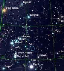 Messier M42 Orion Nebula Dark Sky Astronomy