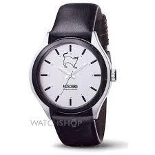 "men s moschino lets turn black watch mw0069 watch shop comâ""¢ mens moschino lets turn black watch mw0069"