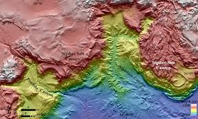 Texas Gulf Coast Water Depth Chart A 1 4 Billion Pixel Map Of The Gulf Of Mexico Seafloor Eos