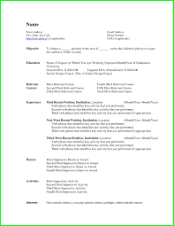Simple Resumes Templates Inspiration Resume Template Word Basic Free Simple Resume Templates Jobsxs Basic