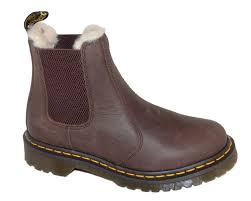 dr martens leonore chelsea boot dark brown dr martens womens china blue shoes