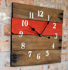 wall clock out of pallet