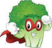 broccoli clipart. Plain Broccoli Fruits And Veggies Strong Mascot Broccoli Superhero Intended Clipart O