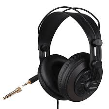 Open Design Headphones Us 45 05 4 Off Samson Sr850 Professional Studio Reference Monitor Headphones Dynamic Headset Semi Open Design In Electric Instrument Parts