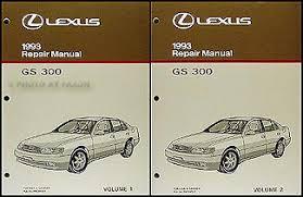 1993 lexus gs 300 wiring diagram manual original related items