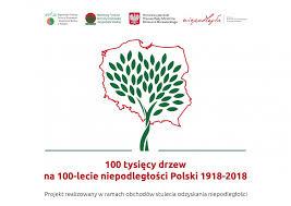 Znalezione obrazy dla zapytania sadzimy drzewa 100 niepodleglosci obrazy