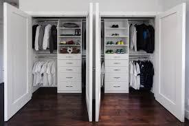reach in closet sliding doors. Double Reach-In Closets In Saratoga Traditional-closet Reach Closet Sliding Doors R