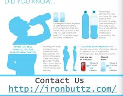 Bodily Hydration Charts Consuming Water