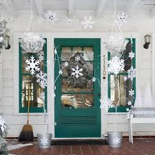 Decorations:Simple Minimalist Outdoor Christmas Decor Ideas For Front Doors  Beautiful Exterior Front Door Decoration