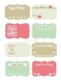 FREE Christmas Gift Tags Printable Squares  Keeping Life SaneChristmas Gift Tag Design