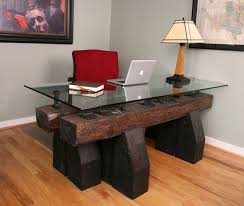 unique office desk home. Home Office Desk. Beautiful Wood Highlights This Modern Desk With Unique