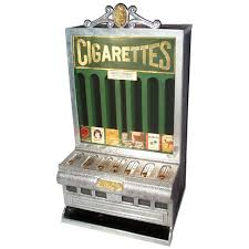 Rowe Cigarette Vending Machine Classy Coinoperated Cigarette Machine Mfgd By Rowe Vending Machine CoLA