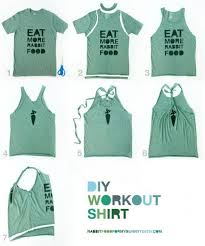 Make Your Shirt Diy Workout Shirt Diy Shirt Diy Clothes Diy Fashion