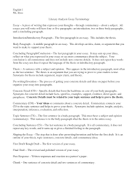 Free Download Writing Conclusions For Literary Analysis