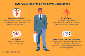 Tips For Interview Common Entry Level Interview Questions And Answers