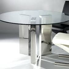 modern round dining table with glass top circular set for 2 stylish tables dining room furniture