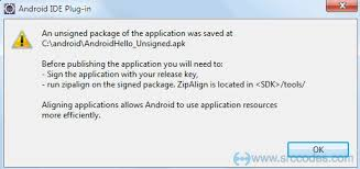Build Android application package file APK using Eclipse IDE and