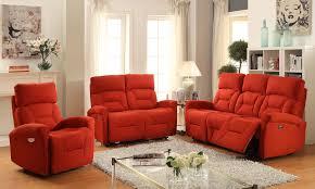 Orange Living Room Set Living Room Furniture Sunset Trading