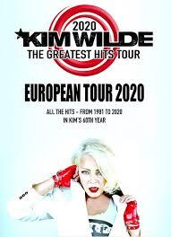 <b>Kim Wilde</b> 2020 : all live dates | <b>Kim Wilde</b> News