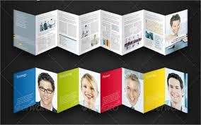 Six Panel Brochure 8 Accordion Fold Brochure Printable Psd Ai Indesign Vector Eps