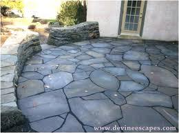flagstone patio cost average per square foot vs stamped concrete calculator flagstone patio cost