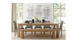 crate and barrel dining table incredible interior wall in accord with crate and barrel basque