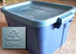 18 gallon food grade bucket plastic type 4