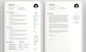Resume Template Free Download Free Minimal Template Visual Cv