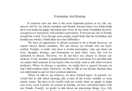 expository essay about the importance of friendship a true friend essays