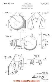 asbestos used in light bulb fragrance dispenser system andre patent 1956 inspectapedia com
