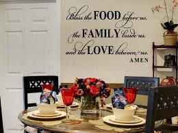 dining room wall stickers table uk