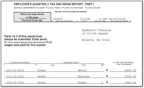 dol 4 form ga how to e file quarterly tax and wage report cwu