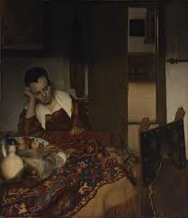 johannes vermeer essay heilbrunn timeline of art w middot a maid asleep