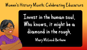 Women's History Month: Mary McLeod Bethune | Eugeena Patterson ...