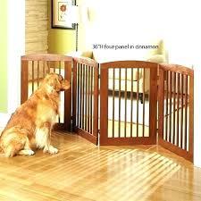 wooden dog gate gates walk over wooden pet gate with door