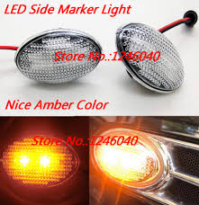 Mini Cooper Marker Lights Us 15 48 2pcs Led Side Marker Light Front Turn Signal Light Lamp For Mini Cooper One R50 02 06 R52 04 08 R53 02 06 Jcw Cooper In Signal Lamp From