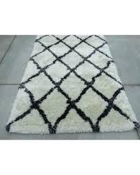 black and white geometric rug uk runner ikea