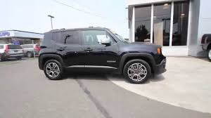 jeep 2015 renegade black. Beautiful 2015 2015 Jeep Renegade Limited  Black FPB43939 Mt Vernon Skagit  YouTube And C