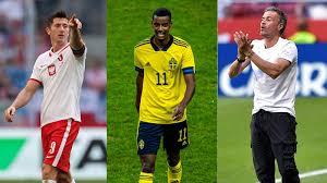 Bei der euro 2020 hat spanien im zweiten turnierspiel zum ersten mal getroffen: Polen Schweden Slowakei Und Spanien Em Gruppe E Im Kicker Check Kicker