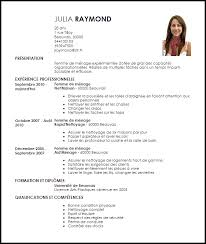 Example Cv Livecareer Fr Frenchly