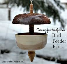 bird feeders finished and ready to go