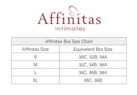 Affinitas Intimates Size Chart Related Keywords