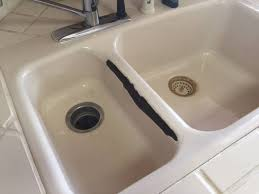 sink refinishing before after