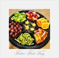 How To Decorate Fruit Tray Festive Fruit Tray funfoodandfitness 18