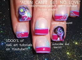 Robin Moses Nail Art: goth nail art, prom nail art, gothic nails ...